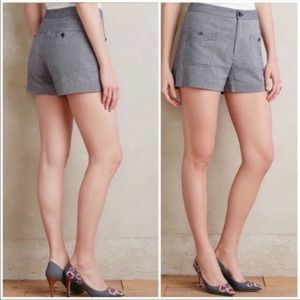 NWT Anthro Cartonierre high waisted shorts
